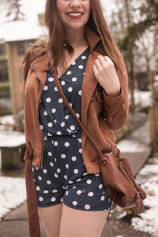 Stitch Fix March 2017 Le Lis Delphine Knit Romper // Hello Rigby Seattle Fashion Blog