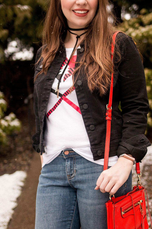 Stitch Fix March 2017 // Noisy May Omega Denim Jacket // Hello Rigby Seattle Fashion Blog