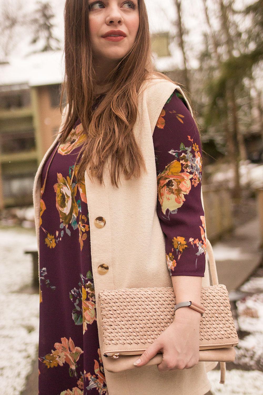 Stitch Fix March 2017 // Urban Expressions Neela Woven Flap Clutch // Hello Rigby Seattle Fashion Blog