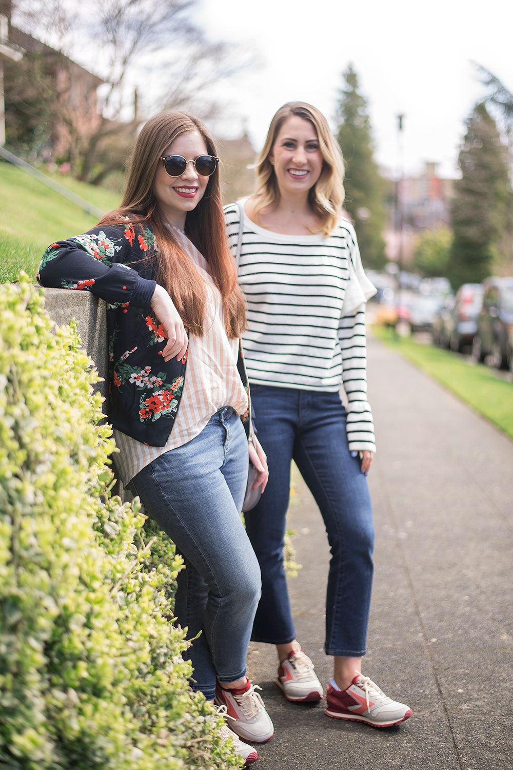 Casual Sneaker Outfits for Spring // Hello RIgby Seattle Fashion Blog