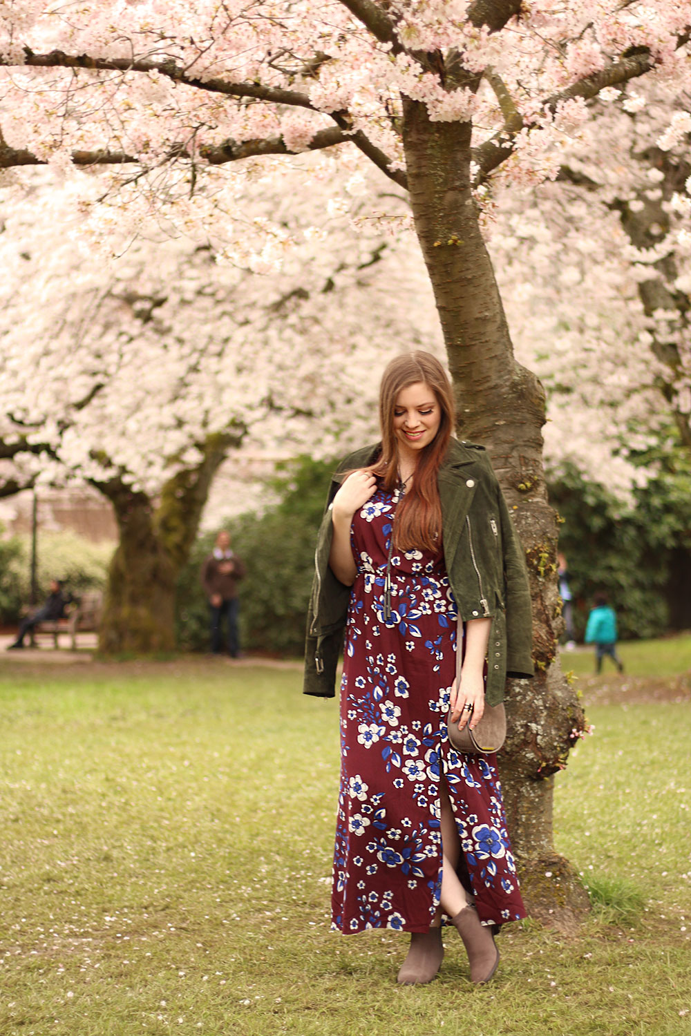 Cherry Blossoms at University of Washington Seattle Spring // Hello Rigby Seattle Fashion Blog