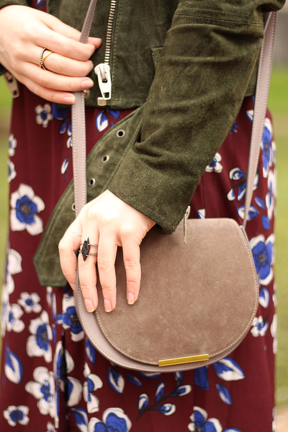 Cuyana Mini Saddle Bag // Hello Rigby Seattle Fashion Blog