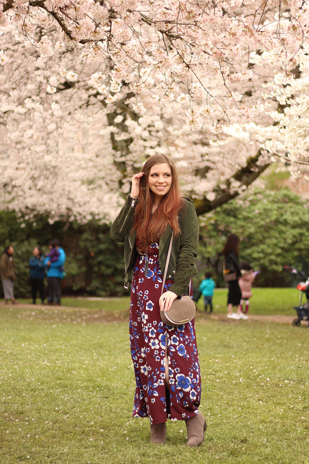 Seattle Cherry Blossoms in Spring // Hello Rigby Seattle Fashion Blog