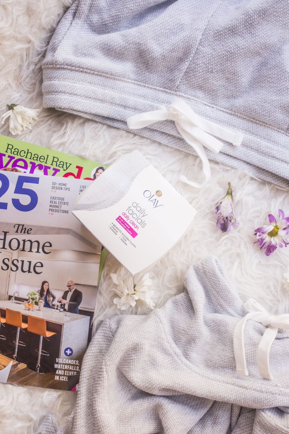Olay Daily Facials Night Time Routine // Hello Rigby Seattle Lifestyle Blog