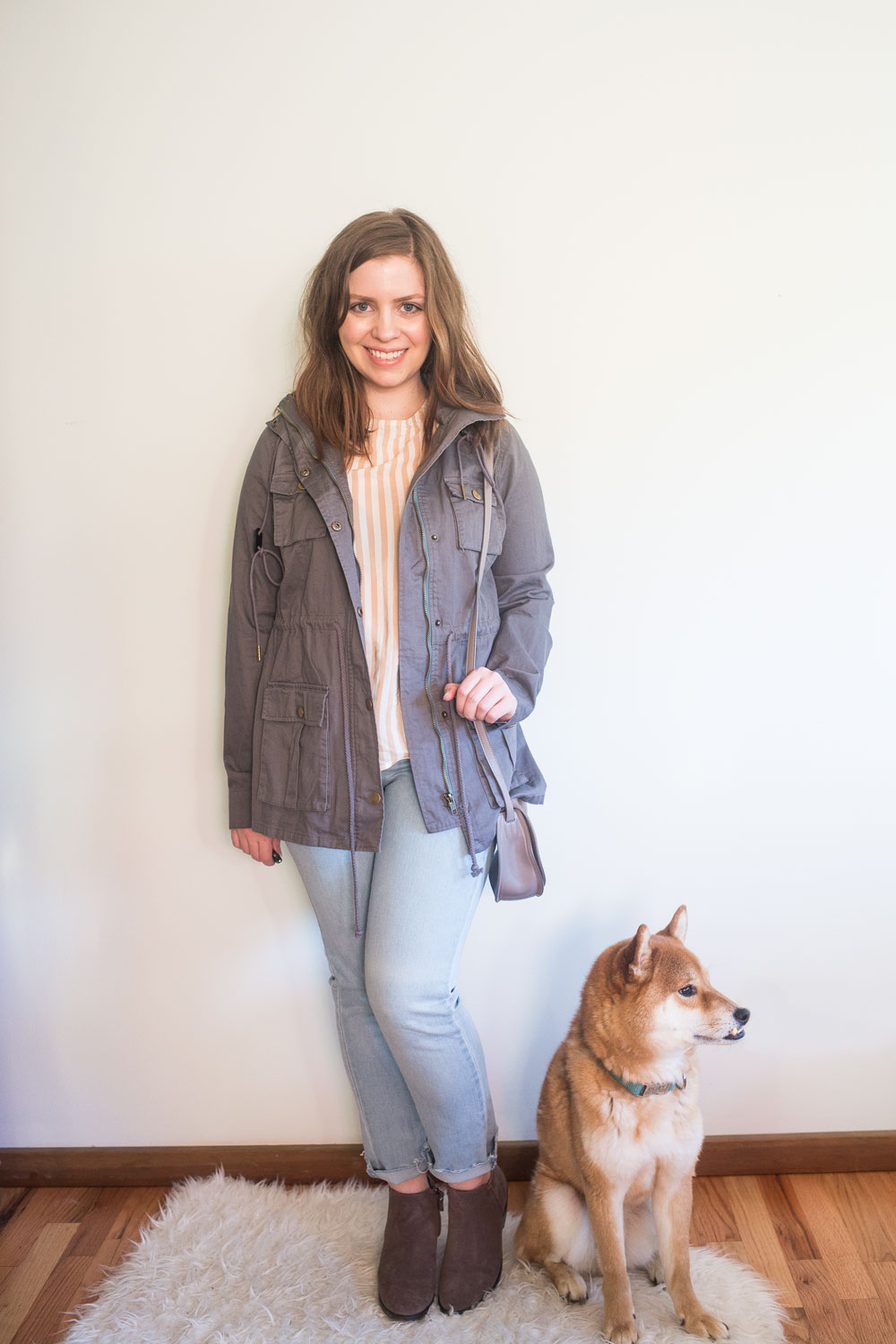 Stitch Fix June 2017: Market and Spruce Chaplin Hooded Anorak Cargo Jacket // Hello Rigby Seattle Fashion Blog