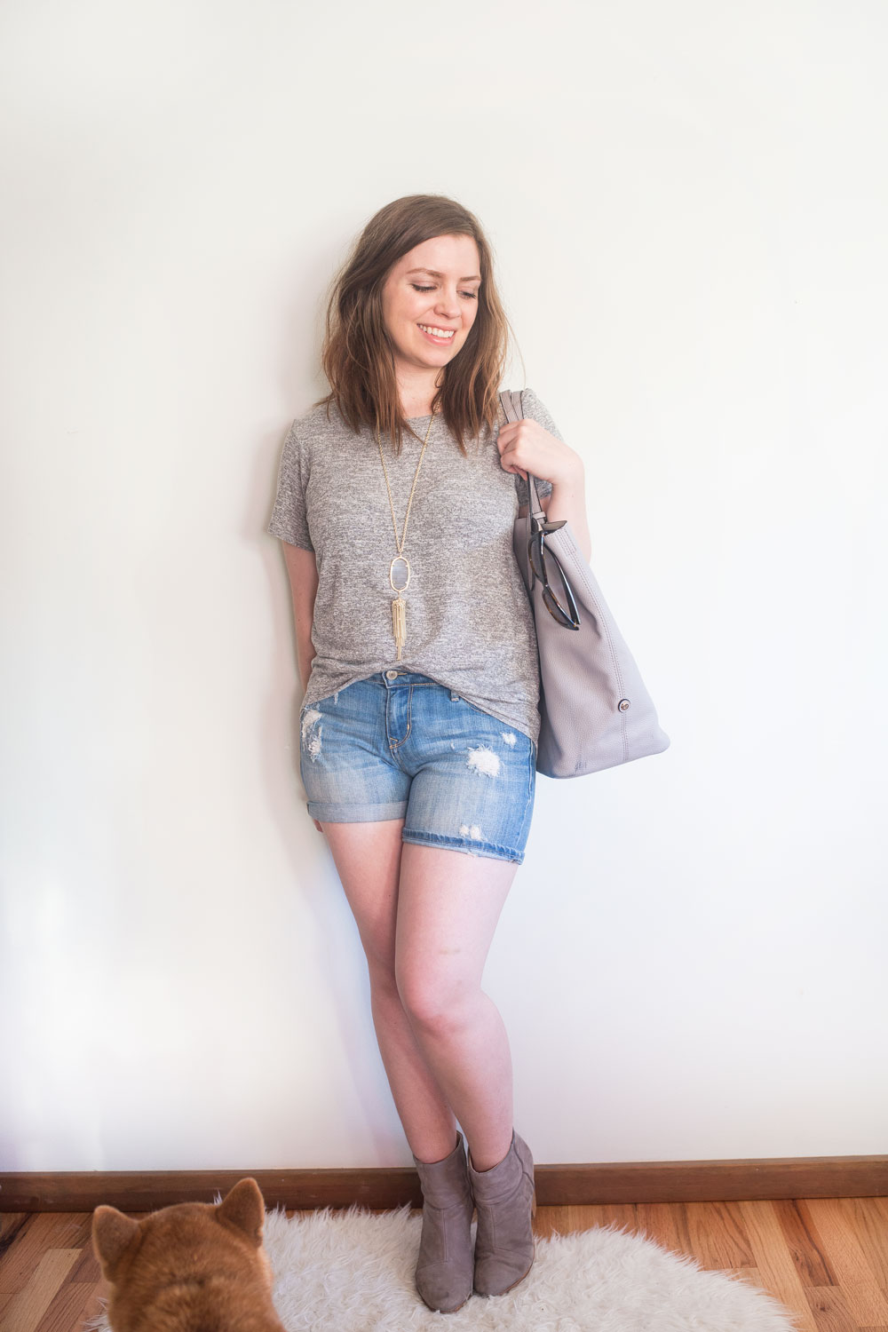 Stitch Fix June 2017: Market and Spruce Hi Lo Short Sleeve Tee // Hello Rigby Seattle Fashion Blog