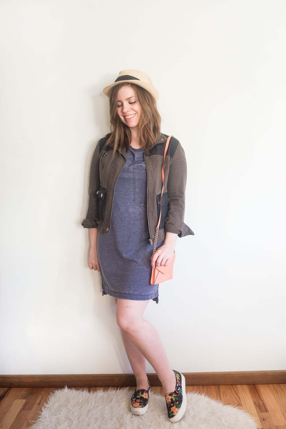 Stitch Fix June 2017: RD Style Kel T-Shirt Dress // Hello Rigby Seattle Fashion Blog