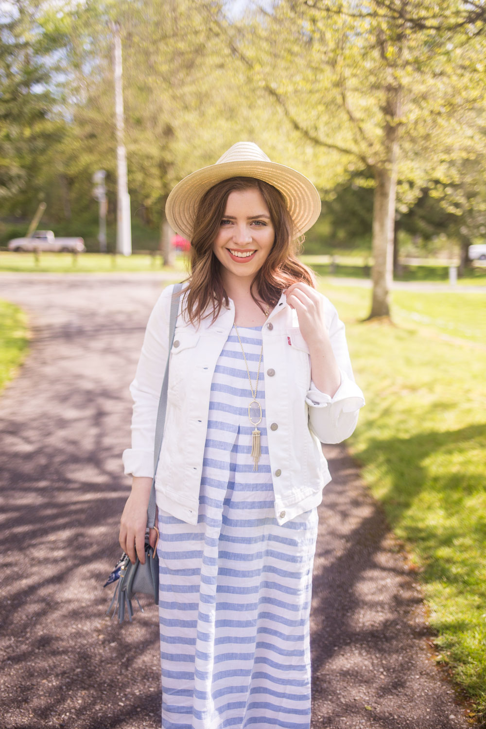 Stripes and Whites Summer Outfit // Hello Rigby Seattle Fashion Blog