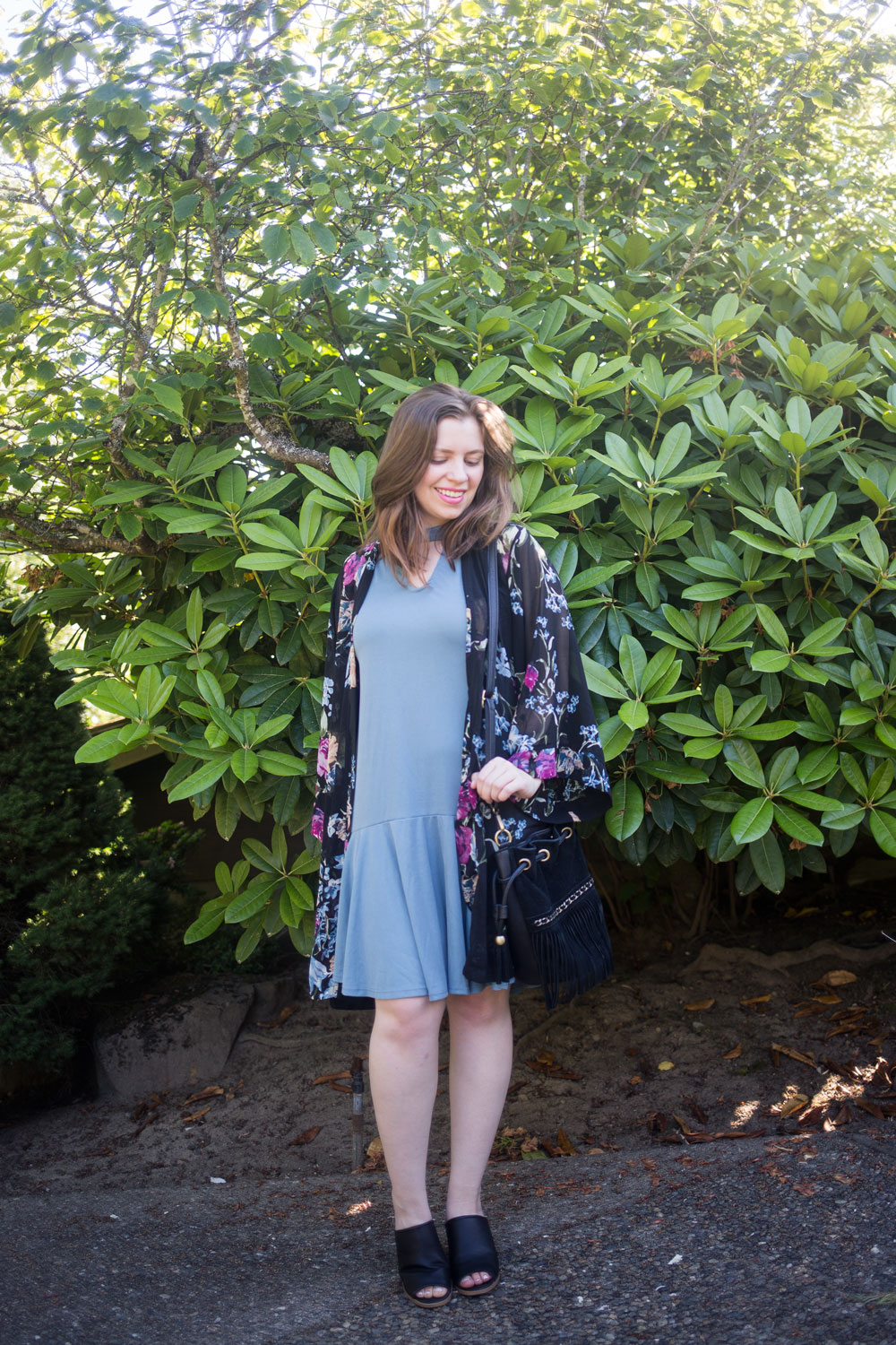 Stitch Fix July 2017: Ginger G Stefania Knit Dress Outfit // Hello Rigby Seattle Fashion Blog
