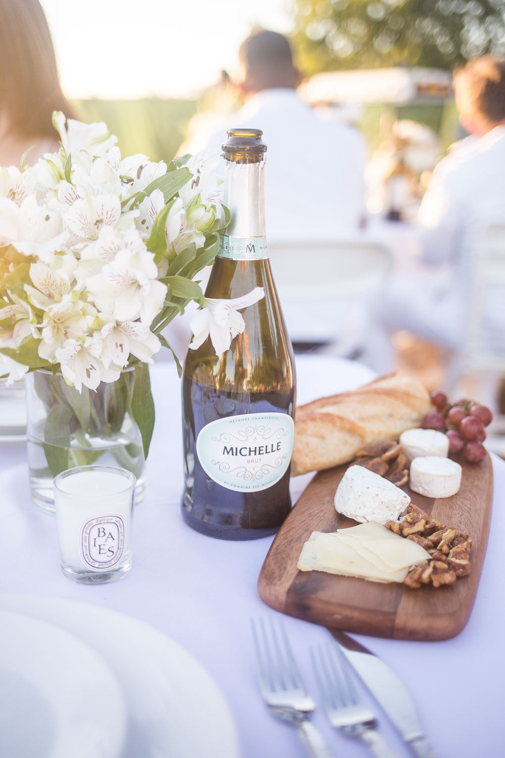 Le Diner en Blanc Eats: Champagne and Cheese Plate // Hello Rigby Seattle Lifestyle Blog