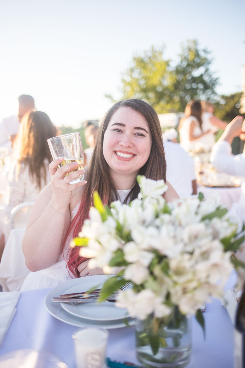Le Diner en Blanc Seattle: Hilary of The Cutie Life // Hello Rigby Seattle Lifestyle Blog