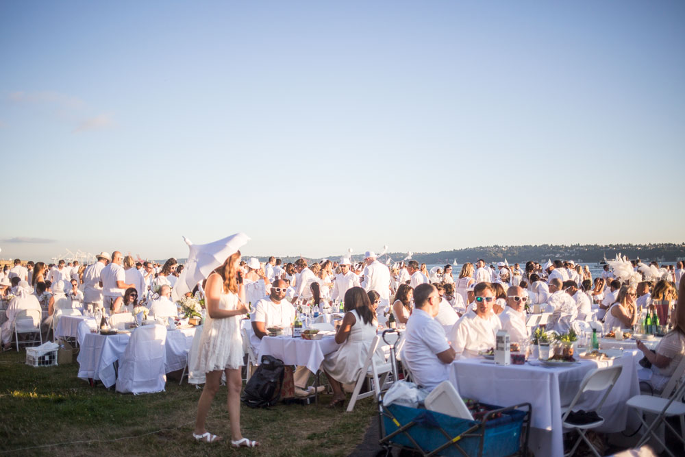Le Diner en Blanc Seattle // Hello Rigby Seattle Lifestyle Blog