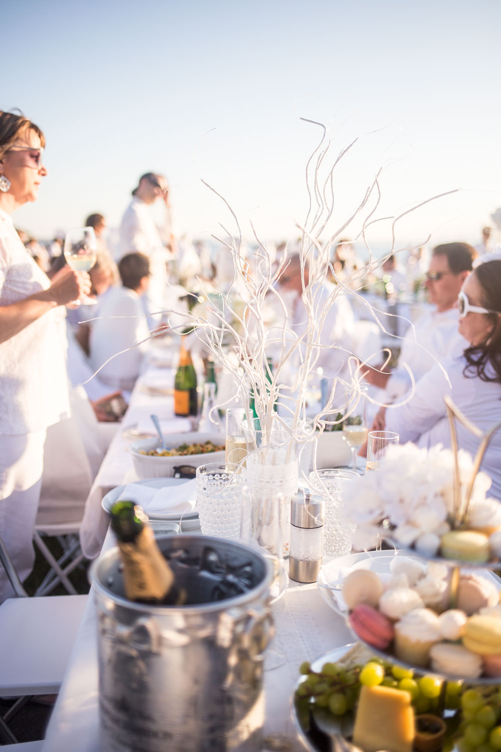 Le Diner en Blanc Table Decor // Hello Rigby Seattle Lifestyle Blog