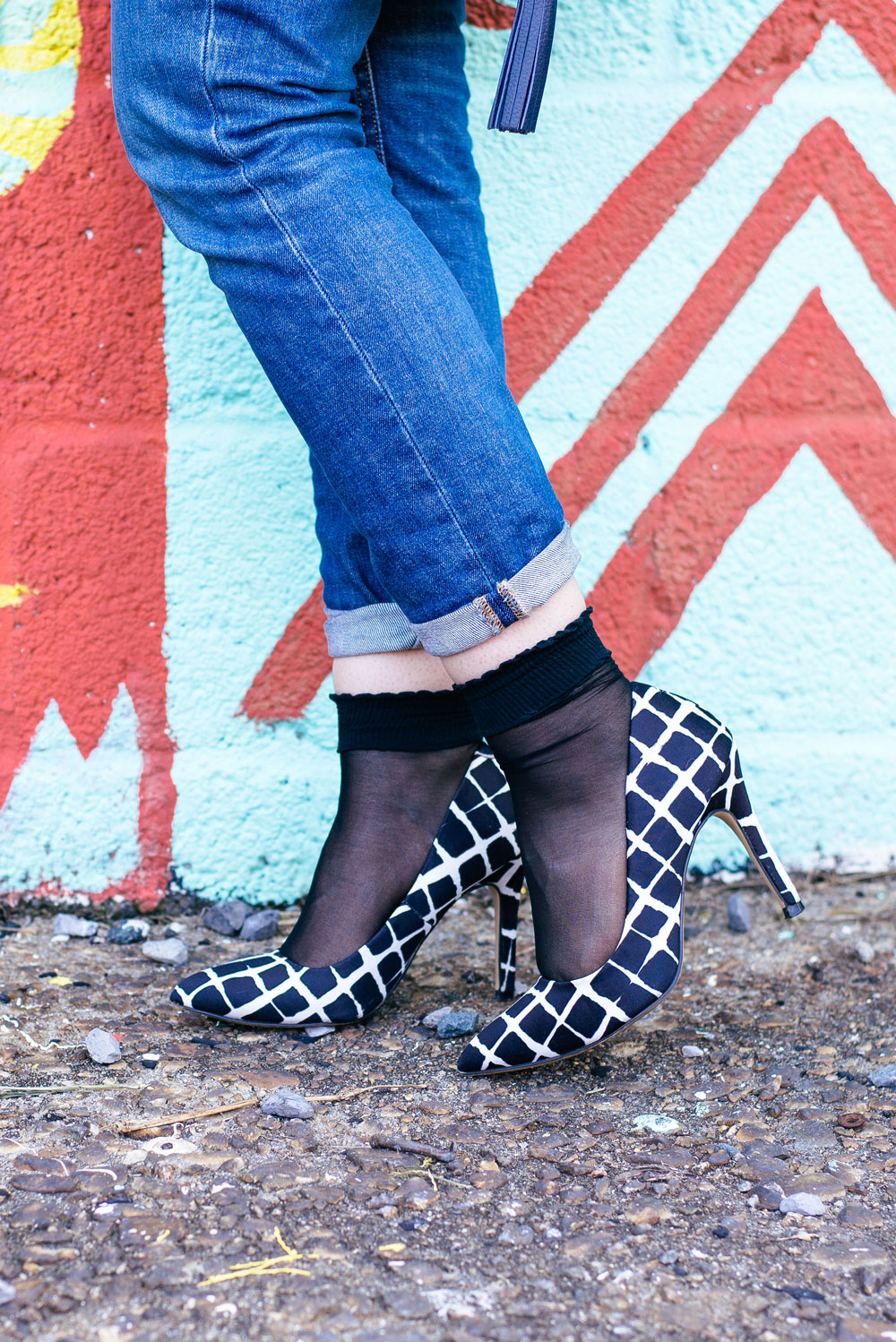 How to Wear Socks with Heels // Seattle Style Blogger