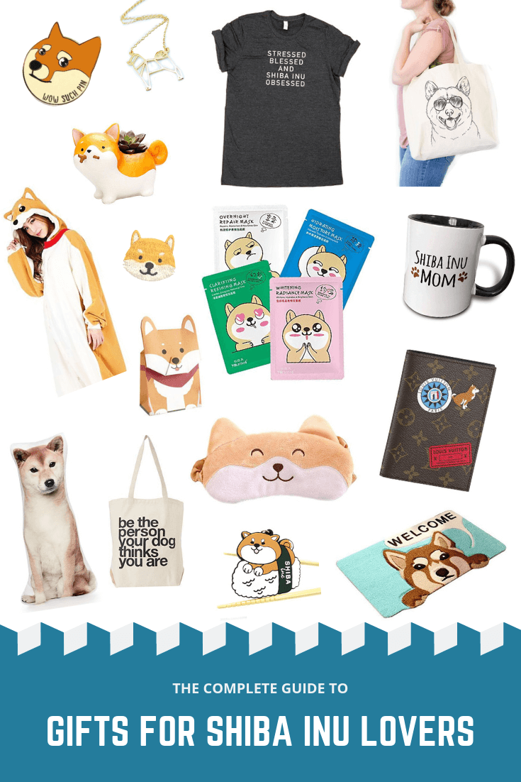 Shiba Inu Gifts for Women // Seattle Pet Blog