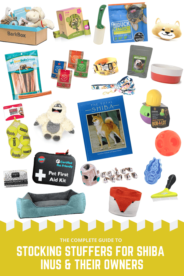 Shiba Inu Merchandise and Stocking Stuffers // Gift Ideas for Shiba Owners