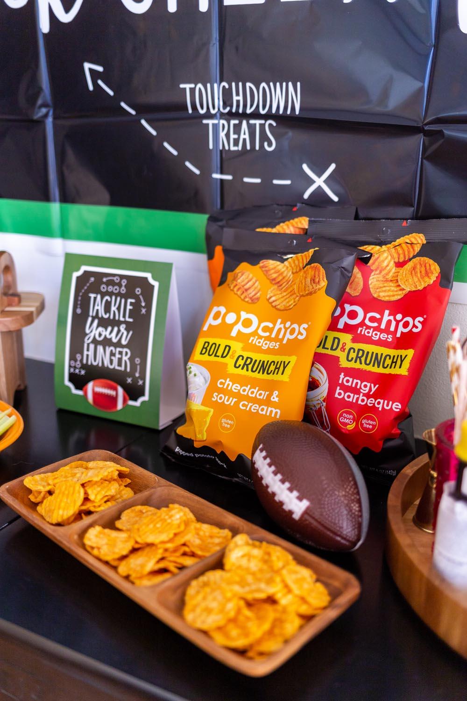 popchips Ridges Game Day Snacks